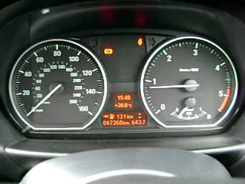 How to: OBC Dashboard oil check, BMW 1 Series (facelift)