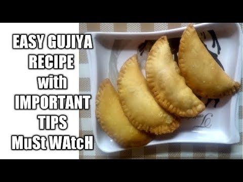 Sooji Mawa Gujiya । सूजी मावा की गुजिया - होली स्पेशल | Semolina Khoya Gujiya | how to make gujiya
