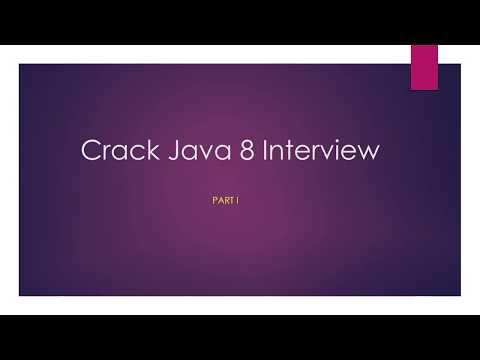 Java 8 Interview Questions & OCJP certification - part I