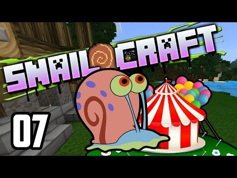 Snailcraft - 07 - Community Theme Park!!!