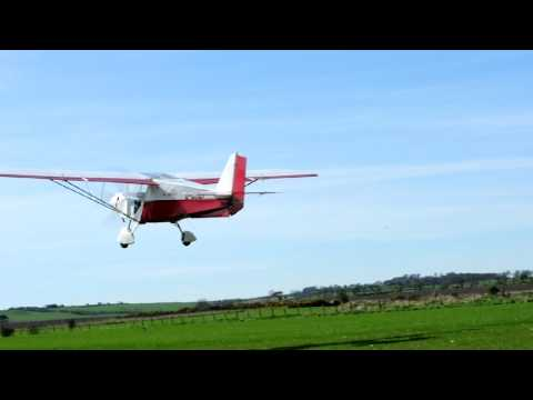 Skyranger Take off from Kingsmuir Airfield, Fife. Scotland.
