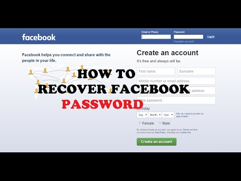 How to Recover Forgotten Facebook Password Without Email | Working