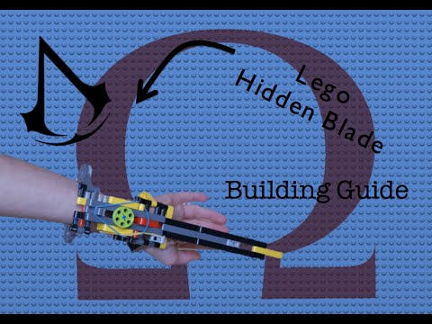 Lego Hidden Blade instructions