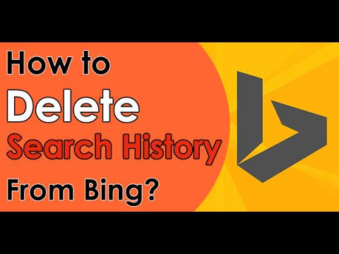 How to Delete Bing Search History (2018)
