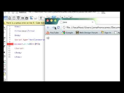 Tutorial 1.1 JavaScript Data Types