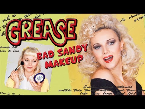 GREASE Sandy Makeup & Hair