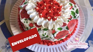 Decorando Bolo Floral C Papel Arroz Especial