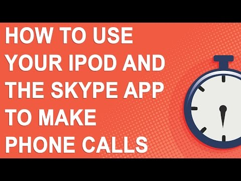 How to use your iPod and the Skype app to make phone calls