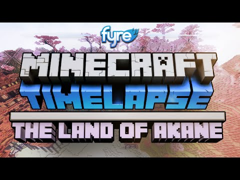 Minecraft Timelapse - The Land of Akane