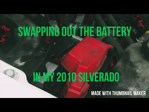 Chevy Silverado Battery Replacement in my 2010 1500