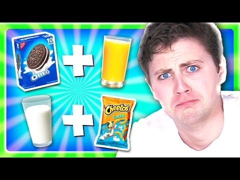 *WEIRD* Food Combinations People Love! PICKLES AND FROSTING! (Eating Gross DiY Candy Foods)