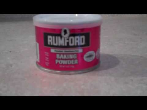 Kitchen Tip  8 ~ Making Sure Your Baking Powder Is Still Act