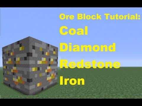 Minecraft 360: How to Make Ore Blocks