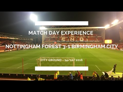 Groundhop at The City Ground - Nottingham Forest vs. Birmingham City - WHAT A GROUND!