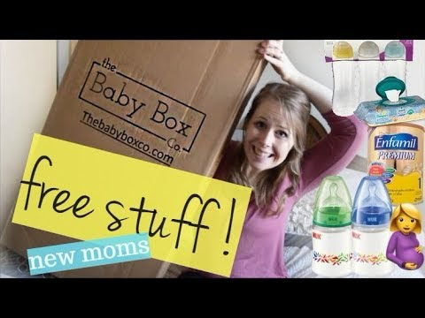 NEW MOM HACKS! - GET FREE STUFF!! (Including the Baby Box co bassinet)
