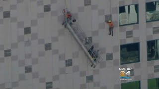 Dramatic Rescue After Scaffolding Collapse In Palmetto Bay