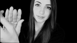 [ASMR] Face Touching & Hand Movements for Sleep