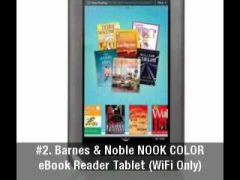 Barnes and Noble #3 NOOK eBook Reader (WiFi only) [ Black & White ].3gp