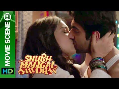 Xxx Mp4 Bhumi Pednekar Amp Ayushman 39 S Steamy Kiss 3gp Sex