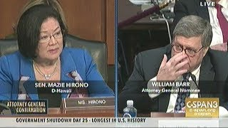Attorney General Nominee Barr Confirmation Hearing Day.1 Part.4 (Final For Day.1)