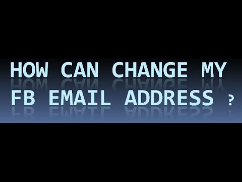 How to change Facebook Gmail ID or Phone number Step by Step Tutorial