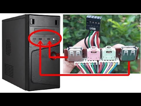Repair Your CPU USB Socket In Rs.10 Only | Easiest Way To Change USB Socket
