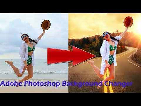 How To Change Background Color In Photoshop 7 Photo Editing Tutorial..!