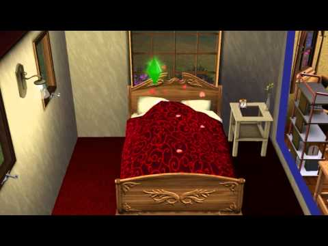 The Sims 3 - WooHoo in Bed