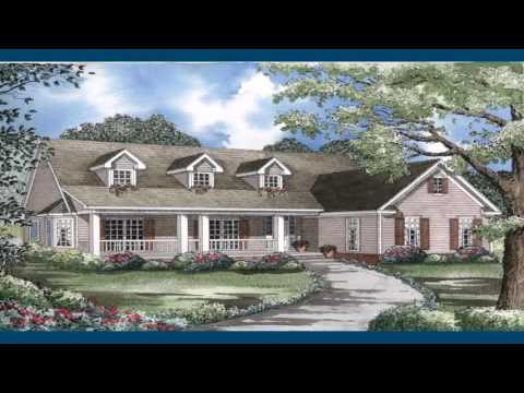 Country Style House Plans With Front Porch