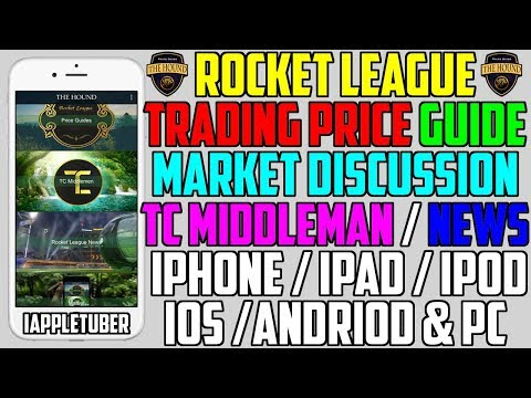 Rocket League Trading Price Guide & Market Discussion (App Review)