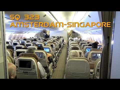Singapore Airlines Boeing 777-312ER (9V-SWH) Flight SQ323 Amsterdam to Singapore