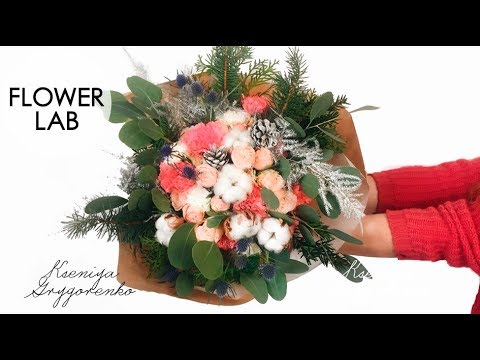 Making Flower BOUQUET MINI flower bouquet DIY