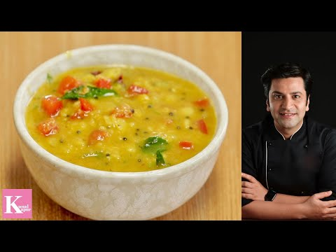 Curried Dal Tadka | South Indian Dal | Kunal Kapur | Indian Food Recipes