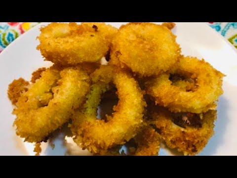 FRIED CALAMARI / PRITONG PUSIT recipe