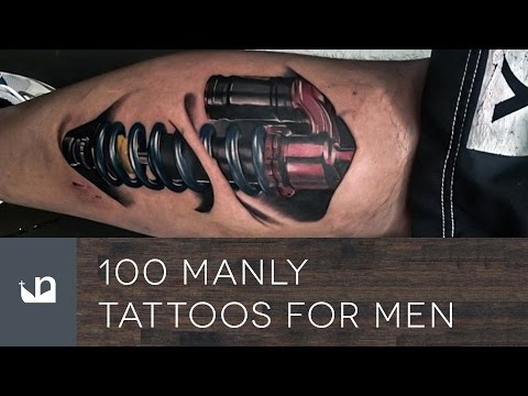 100 Manly Tattoos For Men