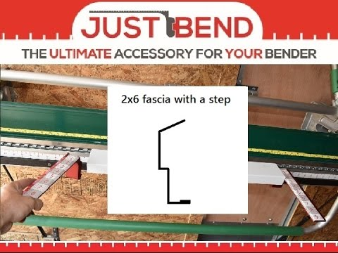 how to bend a step fascia