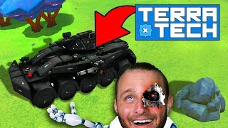 NEW TECH!! (Upgrading All The Things!) - TerraTech #12