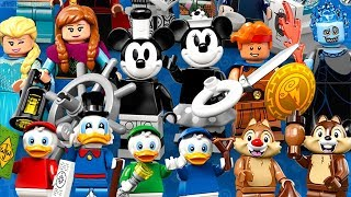Download LEGO Disney Minifigures series 2 reveal! Overview & thoughts Video