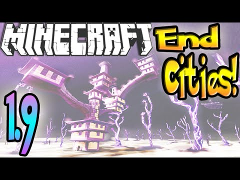 MineCraft 1.9 How To Find an End City! (SnapShot 15w41b) NEW END!