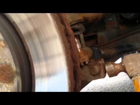 How to remove a lower balljoint part#1 dodge journ