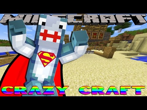 Minecraft CRAZY CRAFT - BUILDING HOT AIR BALLOONS!!!