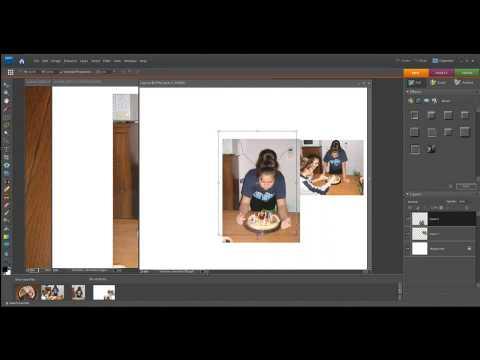 Photoshop Elements Photo Layouts