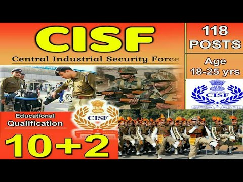 CISF new job vacancy..all India candidate apply for the post...