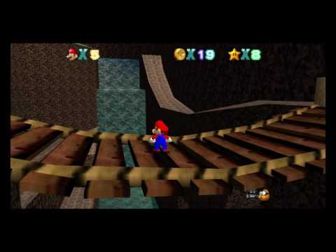 Mario 64 Custom Level: Gloomy Gully (Download)