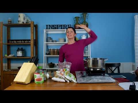 Frozen Vegetable Soup Recipe