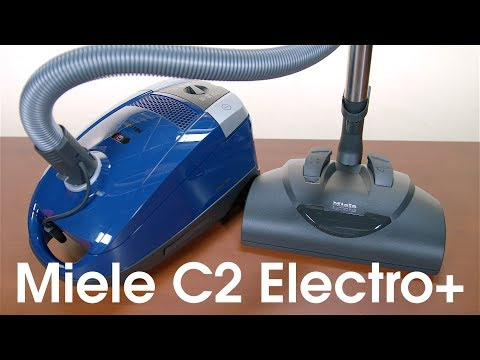 Miele C2ElectroPlus Canister Vacuum