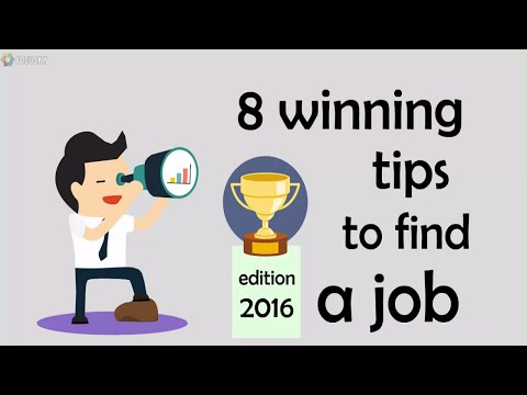 8 Winning Tips To Find A Job | Creative Thinking