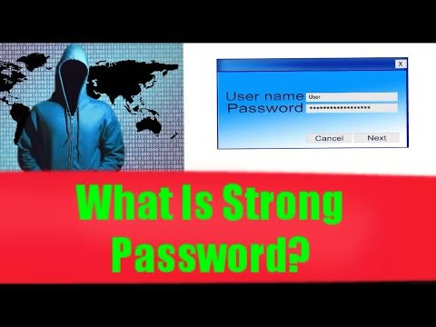What is Strongest Password - How to Make Strong Password.