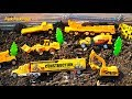 Download           Construction Vehicles Toy Unboxing - Playing with Diggers + Toy Trucks, King Cool Part 1 MP3,3GP,MP4