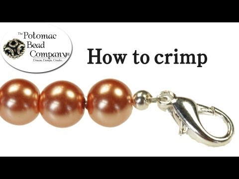 Crimping - How to Crimp and Finish Jewelry